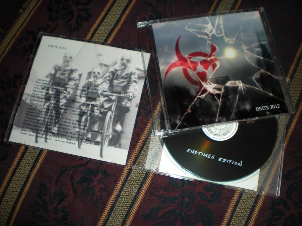 DMTS 2012: Endtimes Edition cd and insert